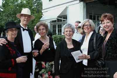 Tish Dubow, Roger Seiler (Honoree), Sally Seiler, Honorable Harriet Cornell (Honoree), South Nyack Mayor Bonnie Christian, Rockland County Legislator Nancy Low Hogan